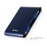 """HDD extern Silicon Power Armor A80 (SP500GBPHDA80S3B) 500GB 2.5"""" USB 3.0 IP7 rezistent la apă şi şocuri"""