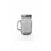Halba tip Borcan, Capac Perforat, Capacitate 400 ml, Transparenta