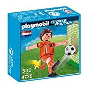 Playmobil 4735 Sports and Action Soccer Player from Netherlands