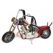 Motocicleta din metal macheta american chopper