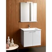 Kolpa san Quat-Gea 73 New komplett, alsószekrény mosdóval és tükörrel (OUG+OGG)