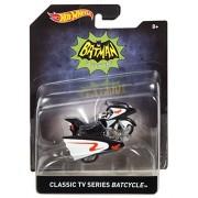 Hot Wheels Classic TV Series Batcycle Vehicle by Mattel