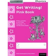 Read Write Inc. Phonics: Get Writing! Pink Book Pack of 10 by Ruth Miskin
