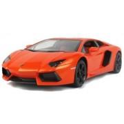 Officially Licensed Lamborghini Aventador Lp700 Rc Car 1:14 Orange Color By Rastar