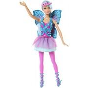 Barbie 4260418750331 - Mix and Match CFF35 fata, blu