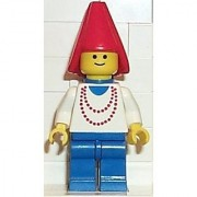 Lego Maiden with Necklace - 2 Minifigure from Castle Series