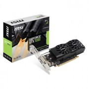 Placa video MSI GeForce GTX 1050 2GT LP, 1354 (1455) MHz, 2GB GDDR5, 128-bit, DL-DVI-D, HDMI, DP