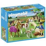 Playmobil 5227 - Recinto con Cavalli e Pony