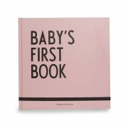 Design Letters - Baby's First Book, rosa