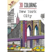 3D Coloring: New York City by Hannah Davies