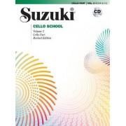 Suzuki Cello School, Vol 2 by Shinichi Suzuki