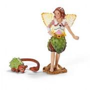 Schleich Chestnut Elf with Fellow