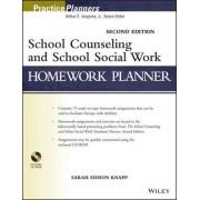 School Counseling and School Social Work Homework Planner by Sarah Edison Knapp