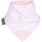 Cheeky Chompers Neckerchew-Cool Pink-0-24 Months-1