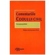 Comentariile codului civil. Persoana juridica - Monica-Ana-Georgiana Dima