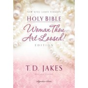 NKJV, Woman Thou Art Loosed, Hardcover, Red Letter Edition by T. D. Jakes