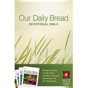 Our Daily Bread Devotional Bible-NLT by Tyndale