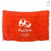 CA-RIO-CA Rio 2016 Olympic Towel Orange CRC-C101911