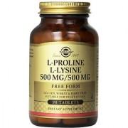 Solgar L-Proline/-Lysine Tablets 500 mg 90 Count