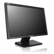 ThinkVision LT2024 20-inch LED Backlit LCD Monitor, 1600x900, pixel pitch 0.277mm, 250 cd/m2, 1000:1, 5ms, 170/160, 1 x DVI-D, 1