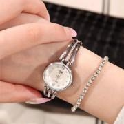 rosegal JW Alloy Rhinestone Analog Bracelet Watch
