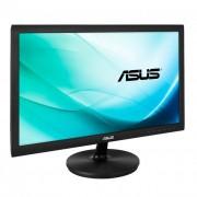 Asus monitor WLED VS229NA 21.5\ wide, Full HD, 5ms, DVI-D, D-Sub, fekete