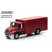 2013 INTERNATIONAL DURASTAR 4400 BEVERAGE TRUCK (Red) H-D Trucks Series 2015 Greenlight Collectibles 1:64 Scale Limited
