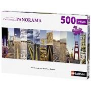 Ravensburger - 87213 - Puzzle Classique - Route Usa Panorama - 500 Pièces