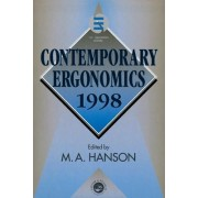 Contemporary Ergonomics 1998 by Margaret A. Hanson