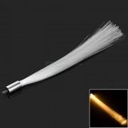 G4 1W COB LED luz de fibra optica blanco calido 60lm - blanco + plata