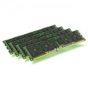 Memorie Kingston ValueRAM 64GB (4x16GB) DDR3 ECC Registered, 1600MHz, PC3-12800, CL11, Quad Channel Kit, KVR16R11D4K4/64