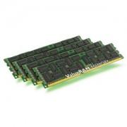 Memorie Kingston ValueRAM 64GB (4x16GB) DDR3 ECC Registered, 1600MHz, PC3-12800, CL11, Quad Channel Kit, KVR16R11D4K4/64