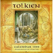 Tolkien Calendar 1999 - Illustrated By Alan Lee - Calendrier - Le Seigneur Des Anneaux - The Lord Of The Rings