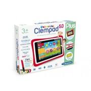 "Clementoni 69481.5 - Clempad, Tablet per bambini dai 3 anni in su, diplay da 5"""