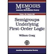 Semigroups Underlying First-order Logic by William Craig