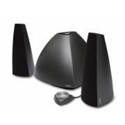 "BOXE 2.1 EDIFIER, RMS: 48W (9Wx2 + 30W), telecomanda pe fir, black, bluetooth Prisma BT ""E3350BT BK"" (include timbru verde 1 leu)"