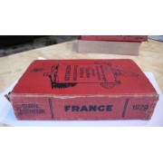 Guide Michelin Rouge France 1929