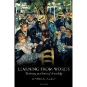 Learning from Words by Jennifer Lackey