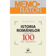 Istoria românilor în 100 de termeni.