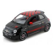 2008 Fiat 500 Abarth 1/18 Black
