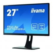 Ecran 27' LED - ProLite B2783QSU-B1 - 2560 x 1440 pixels - 1 ms - Format large 16/9 - DisplayPort - HDMI - FreeSync - Hub USB 3.0 - Noir
