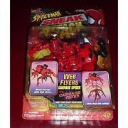Spider-Man Sneak Attack: Web Flyers: Carnage SPider with Carnage Flyer Plus Sneak Attack Sticker