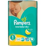 Pampers New Baby 1 - 43 bucati