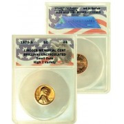 Collec Tons Keepers #4: 1970 S Lincoln Memorial Cent Small Date Certified In Exclusive Anacs Brilliant Uncirculated Holder