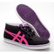 Asics Onitsuka Tiger Renshi CV utcai cipő női - fekete/pink