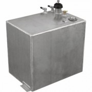 RDS Aluminum Auxiliary Fuel Tank - 20-Gallon, Rectangular, Smooth, Model 72587