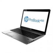 """HP ProBook 450 G2, 3205U, 15.6"""" HD, 4GB, 1TB, DVDRW, FpR, ac, BT, W10"""