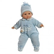 """Paola Reina Alex Winter 14"""" Interactive Boy Baby Doll (Made In Spain)"""