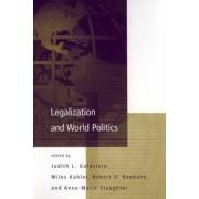 Legalization and World Politics by Judith L. Goldstein