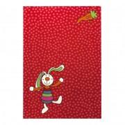 Kindertapijt Rainbow Rabbit - rood - 133x200cm, Sigikid